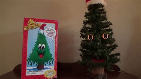 gemmy animated quot douglas fir quot the talking christmas tree