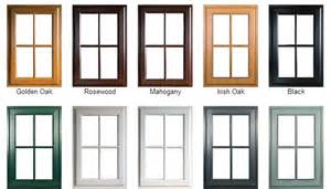 Choose a right color for upvc window frames spiker windows