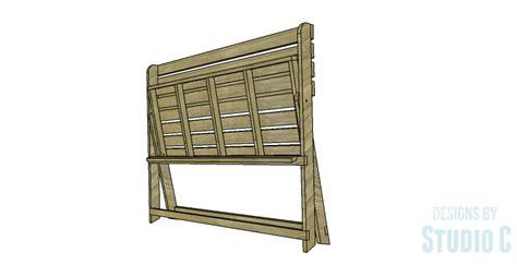 folding bench plans diy plans to build a folding bench