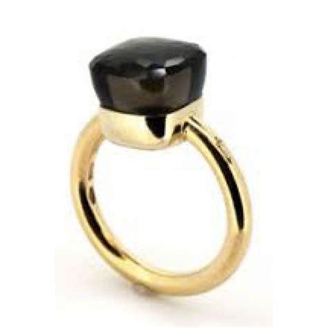 pomellato ring pomellato ring nudo black pink gold ref a94366 instant luxe
