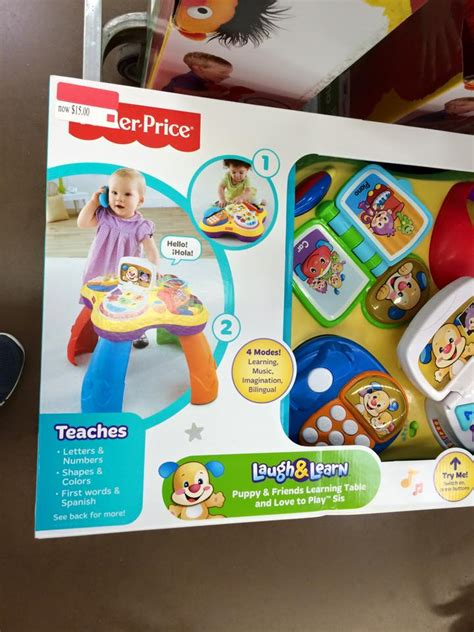 fisher price laugh learn puppy friends learning table walmart clearance deals up to 90 on fisher price doc mcstuffin more