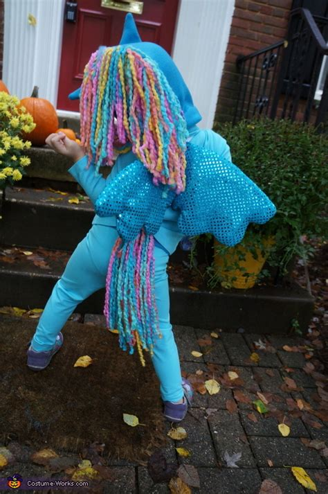 pony rainbow dash costume  girls  sew diy