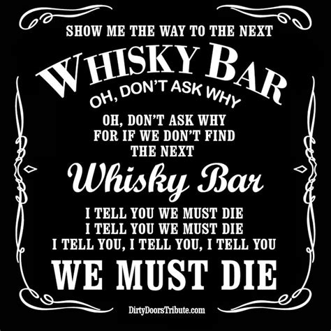 Doors Whiskey Bar by 17 Best Images About Doors Lyrics On Sun