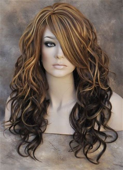 hair highlights bottom brown hair with blonde highlights at the bottom