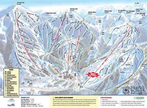 solitude trail map ski solitude trail map