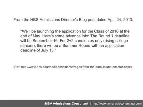 Mit Sloan Mba Deadline 2016 by New Hbs 1 Deadline Is September 16 2013 New Mit