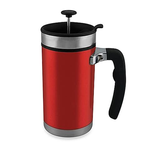 bed bath and beyond french press planetary design desk press 20 oz french press travel mug bed bath beyond