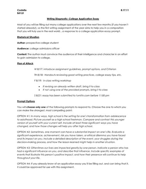 College Application Exle Essay by College Essay What To Write About Bamboodownunder