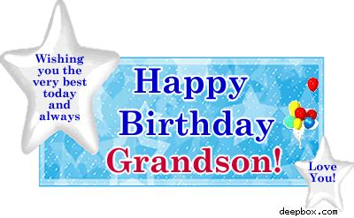 Happy Birthday Grandson Quotes Grandson Birthday Clip Art Happy Birthday Grandson