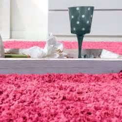 hochflor teppich rosa shaggy hochflor langflor teppich sky einfarbig in pink