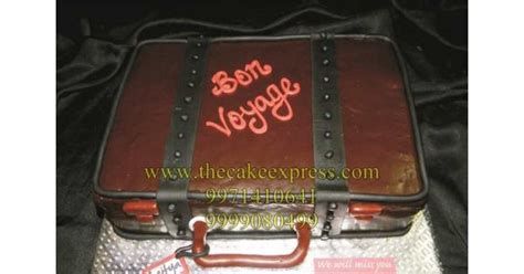send suitcase shape cake  gurugram  buy suitcase shape cake   gurgaon