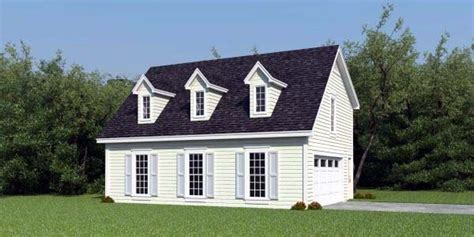 Cape Cod Garage by Cape Cod Garage Plan 47152