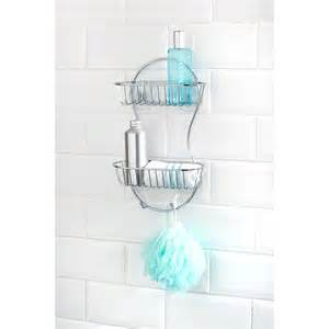 2 tier suction shower caddy 292181 b m