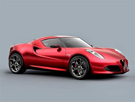sports car alfa romeo launches 4c sports car