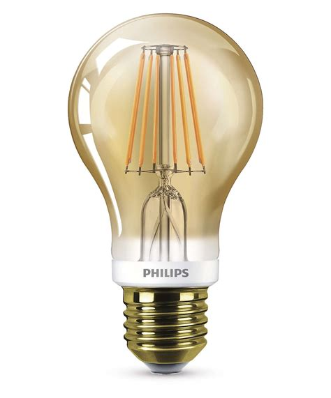 Paket Philip Philips Lu Led 10 5w 4 In 1 Lu Led 1 Paket Isi 4 philips led filament normal e27 7 5w 48w 600lm 2000k
