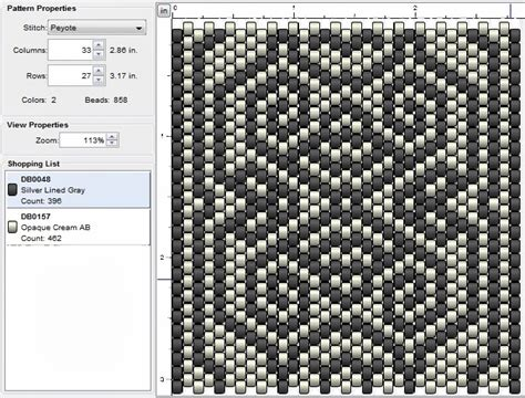 imaginesque beading peyote stitch pattern 19