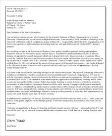 Teaching Assistant Cover Letter With No Experience Teaching Cover Letter 7 Free Pdf Documents Free Premium Templates