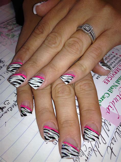 zebra pattern nails zebra nail design by tiffany d free nail technician