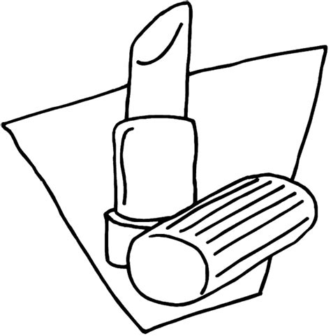 free coloring pages of make up face