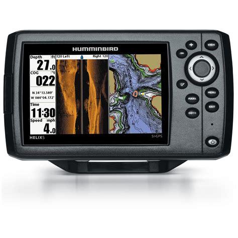 humminbird helix 5 si fishfinder gps combo 634255 gps