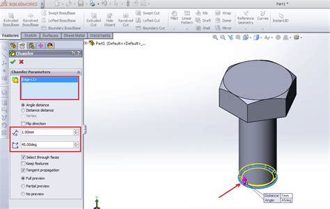 solidworks tutorial bolt how to make threads in solidworks 12cad com