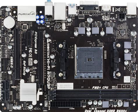 Biostar Hifi A70u3p Socket Fm Fm2 biostar releases hi fi a70u3p fm2 motherboard techporn