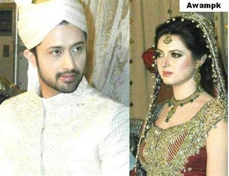 marriage bridal pics atif aslam bharwana wedding barat photos awam pk