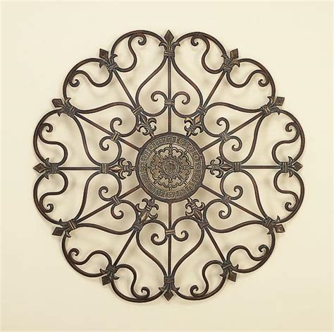 rod iron decorations wall home decors idea metal wall decor