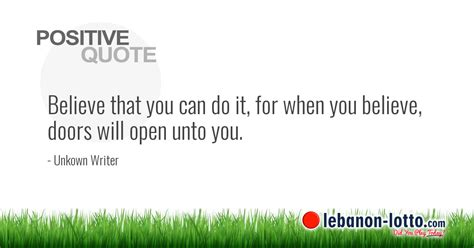 Believe That You Can positive quotes believe that you can do it for when you
