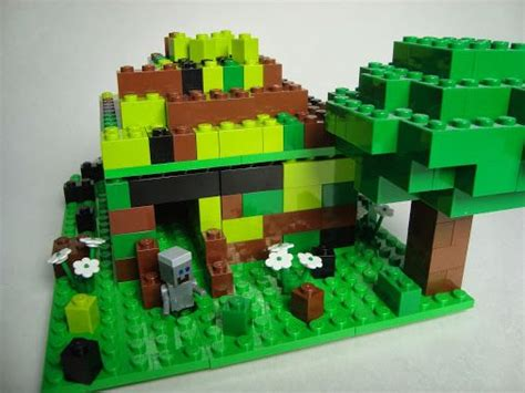 minecraft lego house minecraft lego steve house legos pinterest