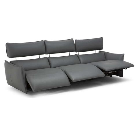 electric leather sofa parma 3 seater electric recliner sofa