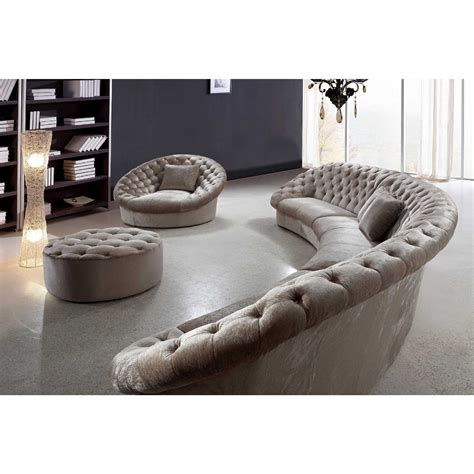 circular sofas living room furniture interior marvelous leather curved sectional sofa design