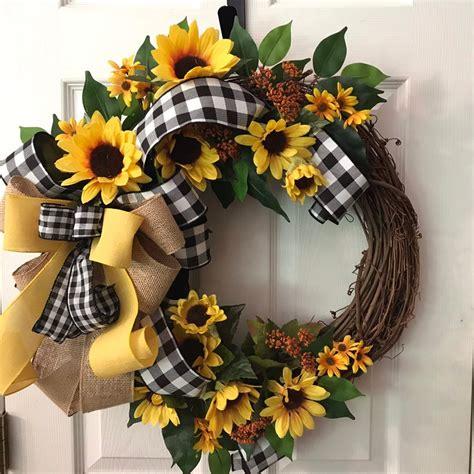 fascinating spring wreath design ideas  front door
