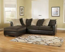 Sectionals At Furniture by Furniture Gemini 11200 Chocolate Sectional