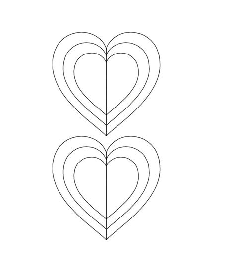 40 printable heart template 15 usage exles free