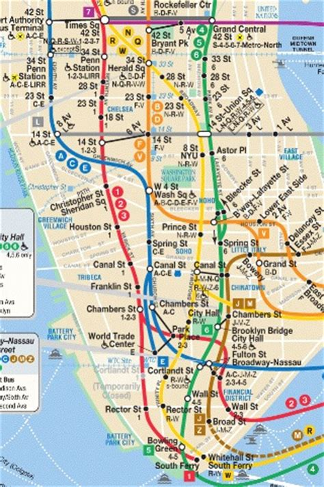 subway map of manhattan with streets iphone nyc subway map lower third of manhattan flickr