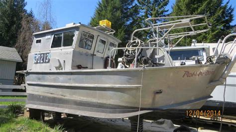 used aluminum fishing boats for sale bc aluminum bow picker