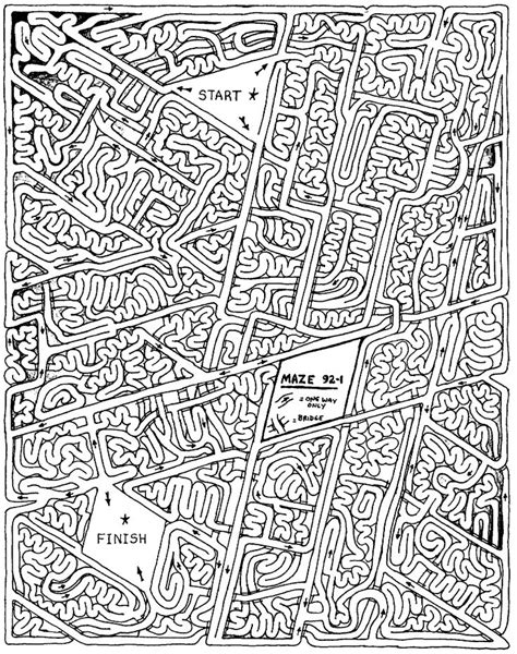printable geography maze 31 best mazes images on pinterest labyrinths activities