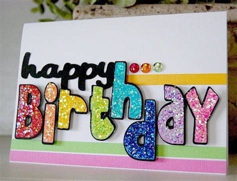 Happy Birthday Handmade Card Designs - 32 handmade birthday card ideas and images