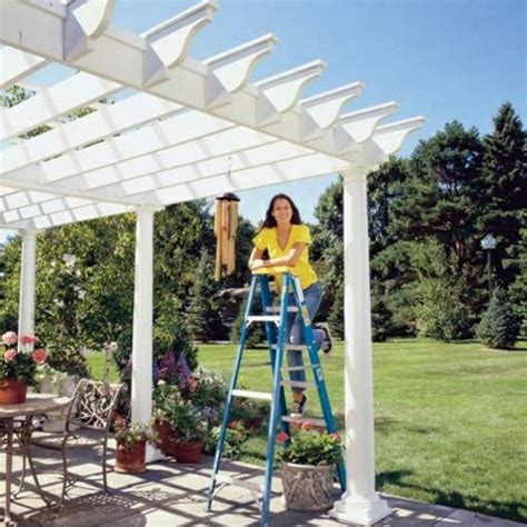 how build a pergola how to build a pergola yourself and photos