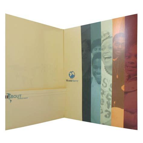 Tri Fold Paper - folder design tri fold paper folders by world savvy