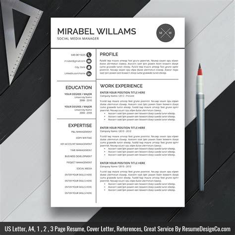 free resume template microsoft word resume template skills