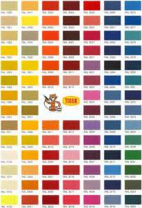 color shade hp velotechnik service colour chart for powder coating