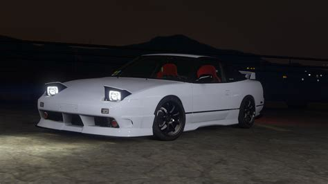 180sx nissan nissan 180sx type x add on tuning gta5 mods