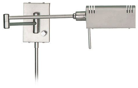 pharmacy ls for reading lite source ls1101 ss pharma halogen wall swing arm l
