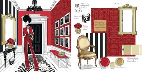 fashion design houses megan hess illustration stellar interior design