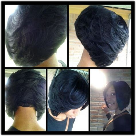 black feather hair styles feathered bob http www blackhairinformation com