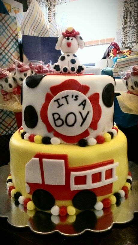 Firefighter Baby Shower by Fireman Theme Baby Shower Cake Cakes