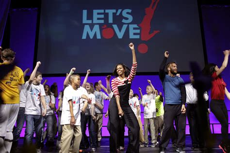 michelle obama initiatives first lady michelle obama is on the road with let s move