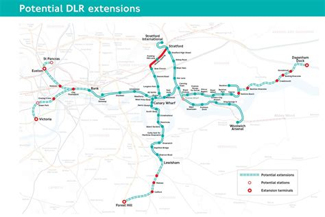 House Plans With Future Expansion extending the dlr london reconnections